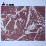 Texture de pierre panneaux composites en aluminium pour revêtement de mur extérieur ACP