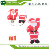 크리스마스를 위한 산타클로스 USB 섬광 드라이브