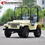 Best Selling UTV Style Mini Jeep Willys 200cc Gy6 Motor com CVT/CEE/EPA/150cc/250cc motor pode estar disponível Jw1501 sobre venda