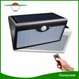 Fernsteuerungs60 der LED-5 Modus-LED Fühler-wasserdichtes Licht Wand-Licht-im Freien Straßenlaterne-Solarder lampen-PIR
