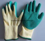 Латекс покрытие на 5-сшитых трикотажные хлопок рукой перчатки