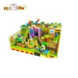 Cours de jeu d'intérieur d'enfants à vendre la cour de jeu de jouet de sûreté de maison de théâtre