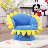 Cartoon Fabric Flower Kids Sofa / Living Room Furniture