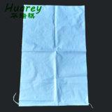 Высокое качество пластика размером 25 кг 30 кг 50 кг пшеничной муки риса PP тканого упаковочные пакеты