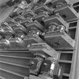 Tumble grenaillage de la courroie de la machine pour divers ressorts et les vis