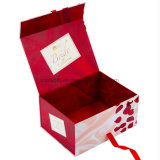 Magnetisches faltendes Pappgeschenk, das Box&#160 verpackt; mit Schaumgummi-Einlage