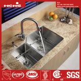 ステンレス鋼のハンドメイドの台所の流し、ステンレス鋼の流し、流し、ハンドメイドの流し