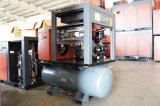 7.5kw de compacte Compressor van de Lucht van de Schroef met Tank