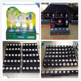 OEM & ODM LED Bulb Light Display Caso con 4 Lamps (E27 MR16 GU10 E14)