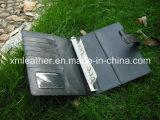 型様式の革カバー議題のリングバインダジャーナルノート