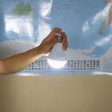 Indicatore luminoso Emergency ricaricabile di E27 LED, lampadina di emergenza di 5W LED