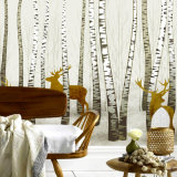 El mejor estilo de moda Quanlity Papel tapiz de PVC de pared