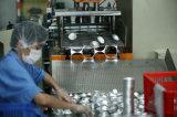 込み合いのタルトが付いている使い捨て可能なアルミホイルの容器
