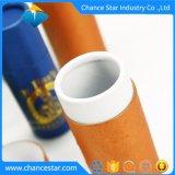 Impreso personalizado Papel cartón Kraft, tubos de aluminio para botellas