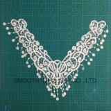 Fashion Cotton Fabric Textile Flower Tassels Embroidery Lace Collar Garment Accessories
