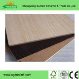 El papel de madera de la melamina del grano hizo frente al MDF