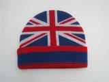 編まれた冬季スポーツの大人のアクリルの帽子の帽子