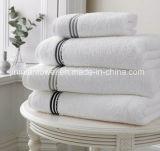 Китайский завод оптовой 100% хлопок обычный домашний пользовательские рекламные материалы логотип отель полотенце