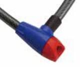 (WB011) El bloqueo de cable de acero de bloqueo de bicicletas