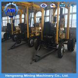 Un trattore delle due rotelle ha montato la macchina utilizzata della piattaforma di produzione del pozzo d'acqua