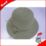 El papel de la Moda Mujer Sun Hat Hat Hat papel sombrero de paja