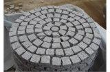 Grigio naturale/nero/giardino del granito/cubo del ciottolo/bandierina/bordo/figura gialla ventilatore/dei ciechi/pietre per lastricati per modific il terrenoare