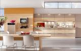 アパートのプロジェクト(灰色カラー)のためのカスタマイズされたハイエンド食器棚の死体