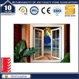 Tissu pour rideaux en verre fixe en aluminium Windows