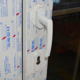 백색 색깔 UPVC 단면도 여닫이 창 문 K02033