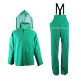 Fabricante da China Rainwear experientes em verde