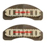 Semi pad metálico de freno del tren