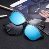 Lâmpada UV400 Articulação Flexível abraçadeiras nos óculos de sol Magnético