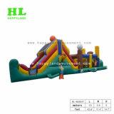 Túnel de Caterpillar Carrera de Obstáculos inflables para niños