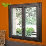 Double Tempered Galss Tilt and Turn Aluminum Window Breaking