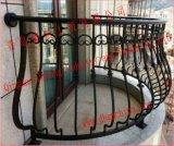 普及したデザイン錬鉄のバルコニーの手すりおよび塀またはバルコニーの柵