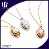 Вакуум Op527 покрыл шкентель ювелирных изделий естественной перлы инкрустированный