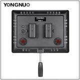 Yongnuo Yn600 cámara de vídeo LED de aire con adaptador de corriente de luz LED, iluminación de estudio 3200K-5500K Bi-Color Yn600aire para Canon Nikon