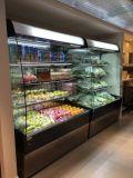 De vrije Bevindende Koeler van de Vertoning van de Drank van de Supermarkt Open