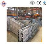 Escalera de aluminio de la construcción de la grúa torre de los precios de venta