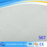 Le film du plafond Tile/PVC de gypse de PVC #567 a fait face à la tuile de plafond de gypse