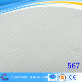 Пленка потолка Tile/PVC гипса PVC #567 смотрела на плитку потолка гипса