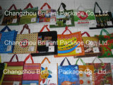 カスタムピヨピヨと鳴く声Non-Woven袋の価格、再使用可能な非編まれたショッピング・バッグ