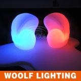 Woolf des meubles à télécommande de 16 couleurs LED de Woolf