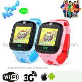 3G/WiFi Sos GPS van het Kind/van Jonge geitjes het Horloge van de Drijver met Echt - tijdPlaats Y20