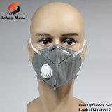 Novo design da máscara de pó plana respirador com válvula EN149 FFP1