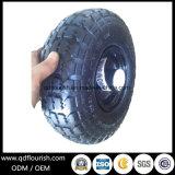 10 '' rotelle gonfiabili del carrello colpiscono la rotella di gomma pneumatica per la carriola