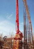 24m 28m 32m 33m de Concrete Plaatsende Boom van de Toren met Hydraulisch Jack-up het Beklimmen Systeem op Verkoop