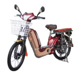 vélo électrique du moteur 350With450W avec le panier et le Mirrior (EB-013D)