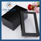 Casella di carta di Keychain con la finestra libera del PVC (CMG-AUG-017)