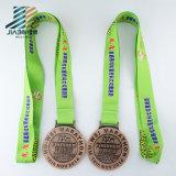 Prezzo di fabbrica della Cina per la medaglia Bronze su ordinazione del metallo di maratona di Huwei